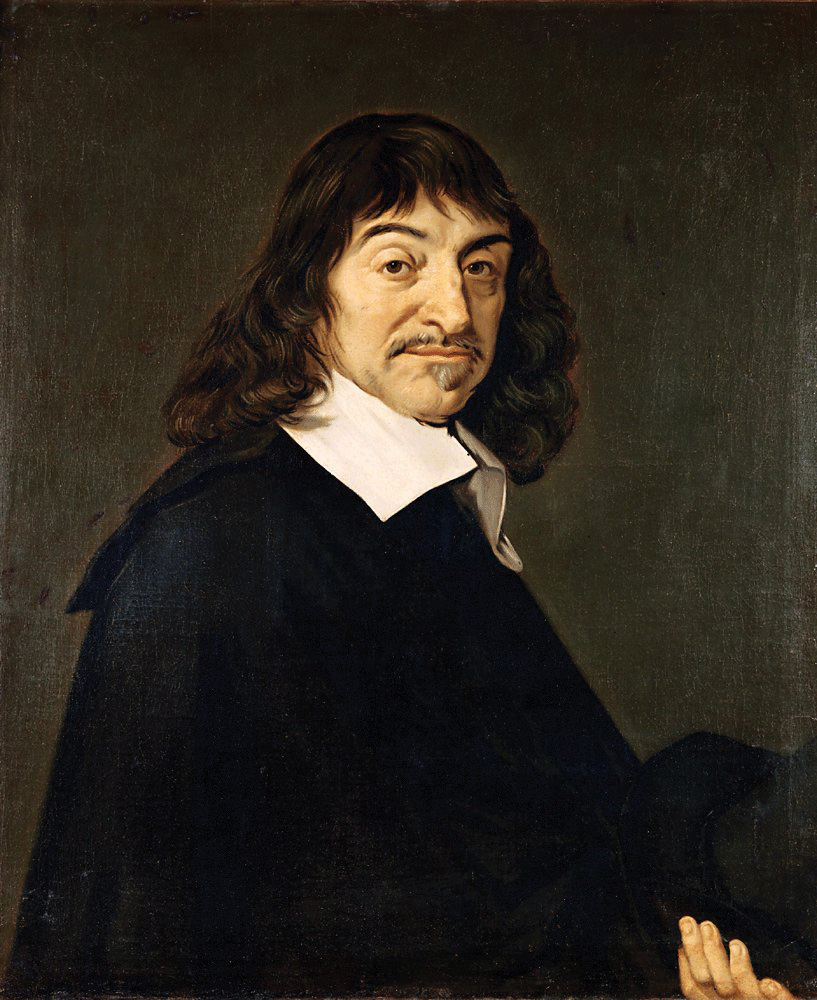 This painting is a portait of René Descartes.