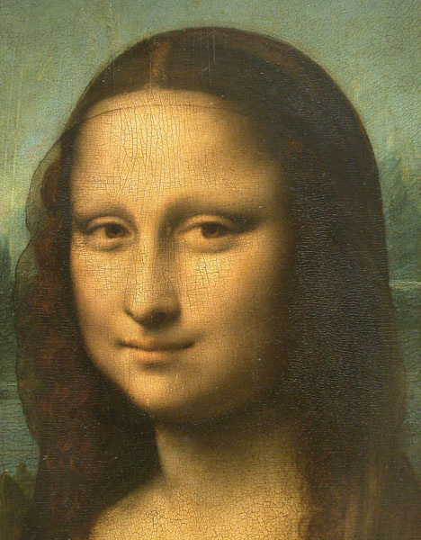 This painting is a portait of Mona Lisa.